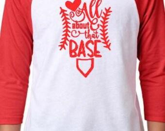 All About That Base Raglan Shirt