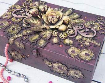 Box organizer jewelry