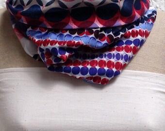 Loop scarf ladies Tilla 70ties dots from Jersey