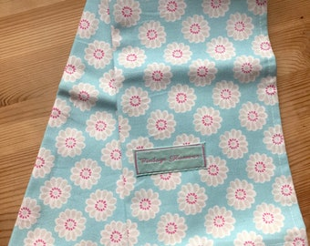 Aqua Tea Towel
