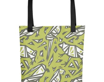 Rainforest Spirit Animals Tote bag - Parrot - Frog - Crocodile - Animal tote bag