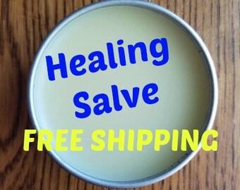 Healing Salve, skin salve, hand cream, healing cream