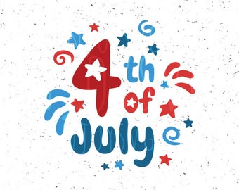 4th of july SVG Independence day SVG 4th of july Svg file Independence day Svg file Patriotic Svg Fourth of july svg Cricut Silhouette Cameo
