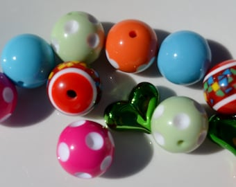 Sample Collection, Mixed Beads, 12CT, 20mm and up, Q35