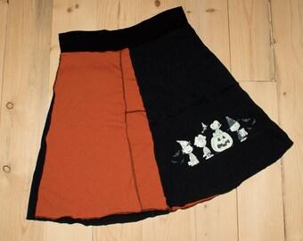 Women's Peanuts Snoopy Halloween Skirt
