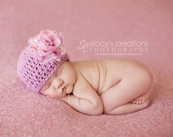 Crochet Newborn Baby Girl Hat, Newborn Baby Hat, Infant Baby Hat, Newborn Girl Hat, Hat for Babies, Infant Girl Hat, Baby Hat for Girl,