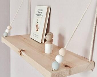 Handmade Swing Shelf