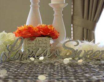 Love is Sweet - Wood Decoration with Swarovski Crystals