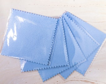 Jewelry Cleaning Cloth - Polishing Cloth - Silver Polish Cloth - Cleaning Cloth - Jewelry Care - Sterling Silver Polish - Metal Polish Cloth