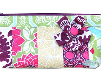 Bloom Zipper Pouch PDF Pattern, Bag Pattern, Sewing Pattern, Quilting, Bagmaking