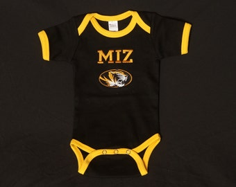 Mizzou  Baby Bodysuit