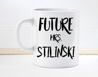 Teen Wolf Future Mrs. Stilinski Mug, fan mug, Gift for Her, Stiles Stilinski