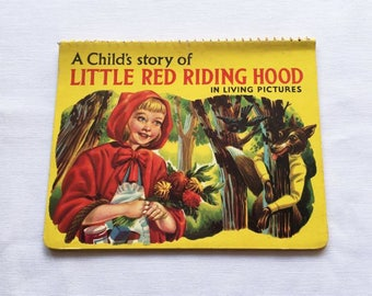Vintage | Little Red Riding Book | Pop-Up | 3D | Book
