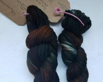 """Hand dyed yarn """"Compost"""""""