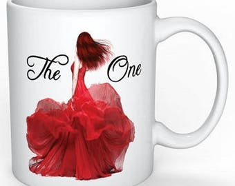 Selection quote mug ~The One~