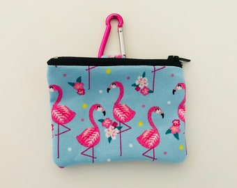 POOCH POUCH - Flirty Flamingo