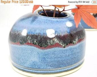 ON SALE Ikebana Vessel - Japanese Arranging - Japanese Flower Vase - Japanese Vase - Pottery Ikebana - Ceramic Ikebana - Ikebana Vase - In S