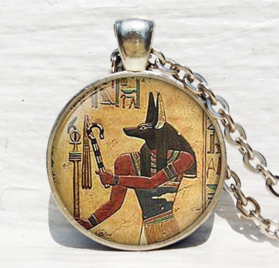 Anubis pendant anubis necklace egyptian lord of the aloadofball Images