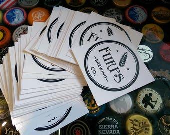 Furps Vinyl Sticker 3 pack