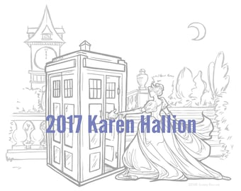 Come Away With Me Coloring Page - Digital Download