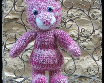 Teddy bear Teddy crochet (amigurumi)