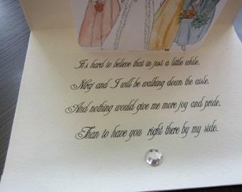Bridesmaid Announcement Card