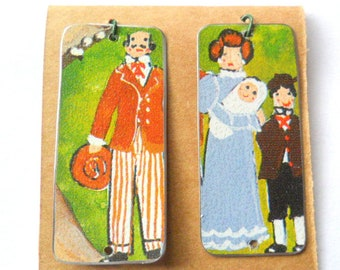Family Time Reclaimed Cookie Tin Earring Findings