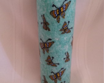 Large Butterfly candle