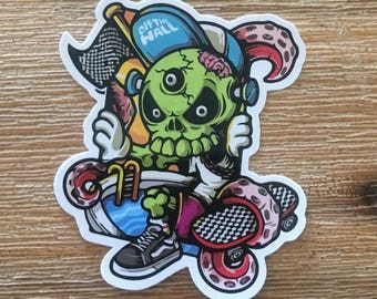 Vans Off The Wall Vintage Quality Sticker