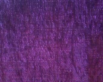 coupon, velvet, chenille, Plum, 32 x 52 cm, clothing decoration, thick
