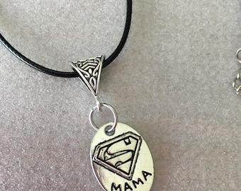 New Super MaMa Pendant Necklace