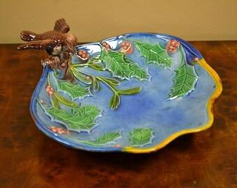 Decorative Ceramic Bird Tray