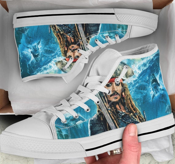 Converse Looks of Tops Men's Colorful Shoes sneakers Shoes Women's like Sneakers High Top Shoes Pirates the Caribbean High xZAPYqwTwd