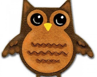 Mothers Day Special: Sizzix Sizzlits Die - Owl  656702