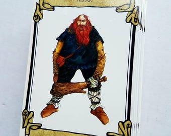 "1985 ""Elfabet"" by Doug Keith. A-Z elves. Fantasy. Unicorn Publishing. Missing slipcover/box"