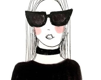 Fashion Illustration - GIRL 6