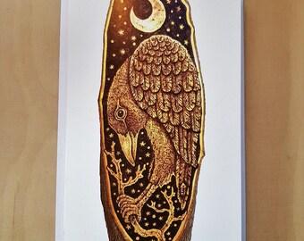 The Crow, Greetings Card