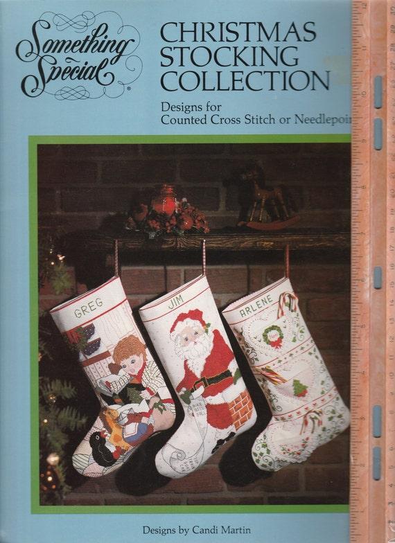Weihnachts-Strumpf Sammlung gezählt Cross Stitch Muster Buch