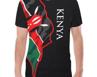 Kenya Men's Classic Flag Tee 2.0