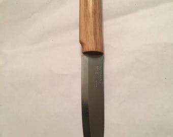 Oak wood knife