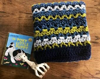 Chunky Crochet Baby Blanket-Lapghan