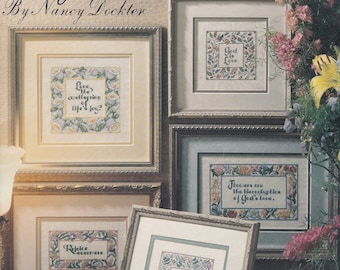 Rejoice In Love by Nancy Dockter Cross Stitch Leaflet