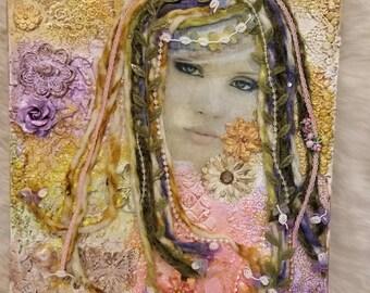 The Beauty Within mixed media