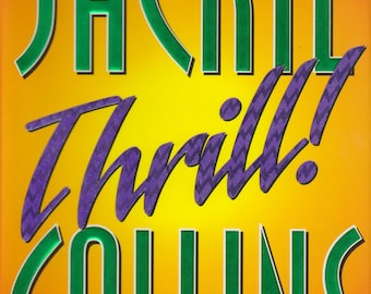 Thrill  by Jackie Collins (Hardcover, Thriller) 1998