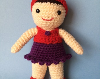 LITTLE DOLLY PDF Crochet Pattern (English only)