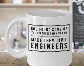 Civil Engineer Mug, Engineer Mug, Civil Engineer Women