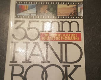Vintage Michael Langford's 33mm Hand Book/Photography/Retro/Imagery/Camera/Lens/Guide/1980s/85/Reference/Image/Photo/Picture/Collection