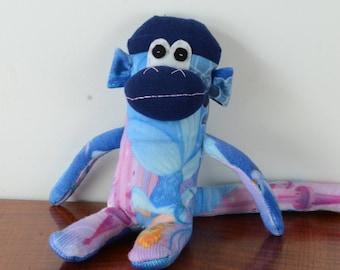 Cinderella Sock monkey, Cinderella, Disney Princess, baby shower gift, sock monkey doll