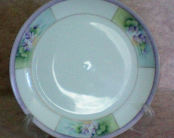 JHR Hutschenreuther Selb Hand Painted Cabinet Plate - 4768