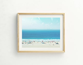 Summer Beach Print | Beach Picture | Beach Wall Art | Beach Photography | Tropical Print | Coastal Picture | Coastal Print | Beach Art